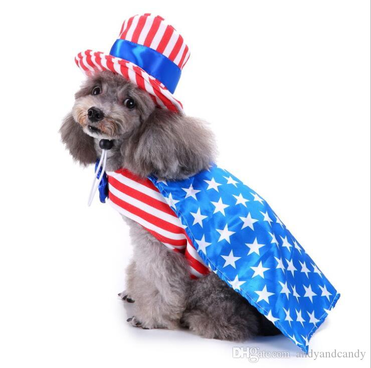 Köpek Noel Cadılar Bayramı kostüm giysi Köpek Doğum Günü Partisi Kostüm Elbise ile Caps Şapka komik Pet Kış Sıcak Giyim Köpekler Pelerin Giyim