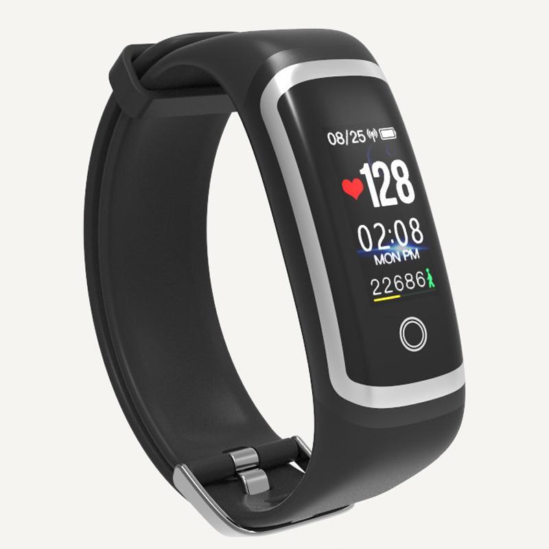 Sync Telefon Dili Bluetooth Akıllı Saatler Erkekler Spor İzle Lüks Çift Masa Su Geçirmez Renk Ekran Kadın Elektronik Izle