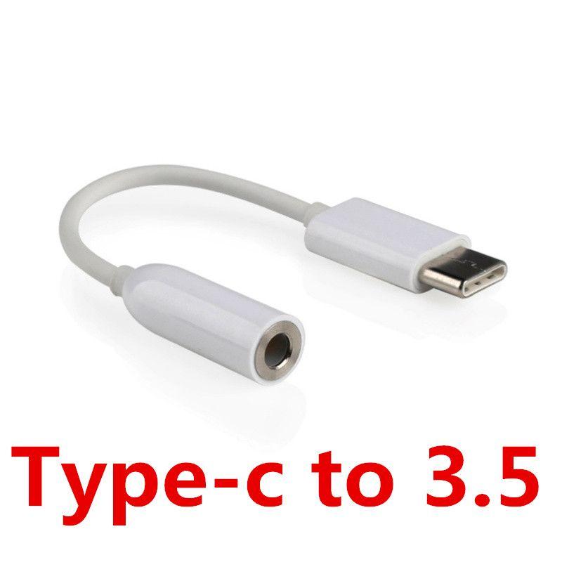 Type-C à 3.5mm Écouteurs Câble Audio Musique Port Adaptateur Usb 3.1 Type C 3.5 AUX Jack pour Xiaomi 6 Mi6 Letv 2 Pro 2 Max2