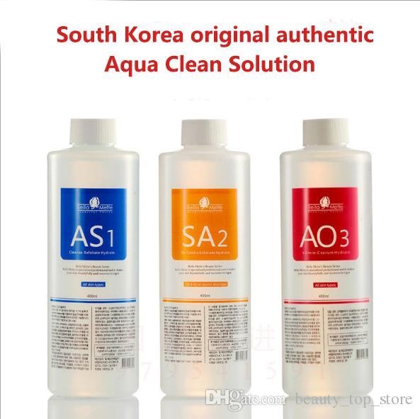 Aqua Peel Solution 400ml per bottle Hydra Dermabrasion Facial Cleansing Blackhead Export Liquid Repair Small Bubbles Water DHL Shipping