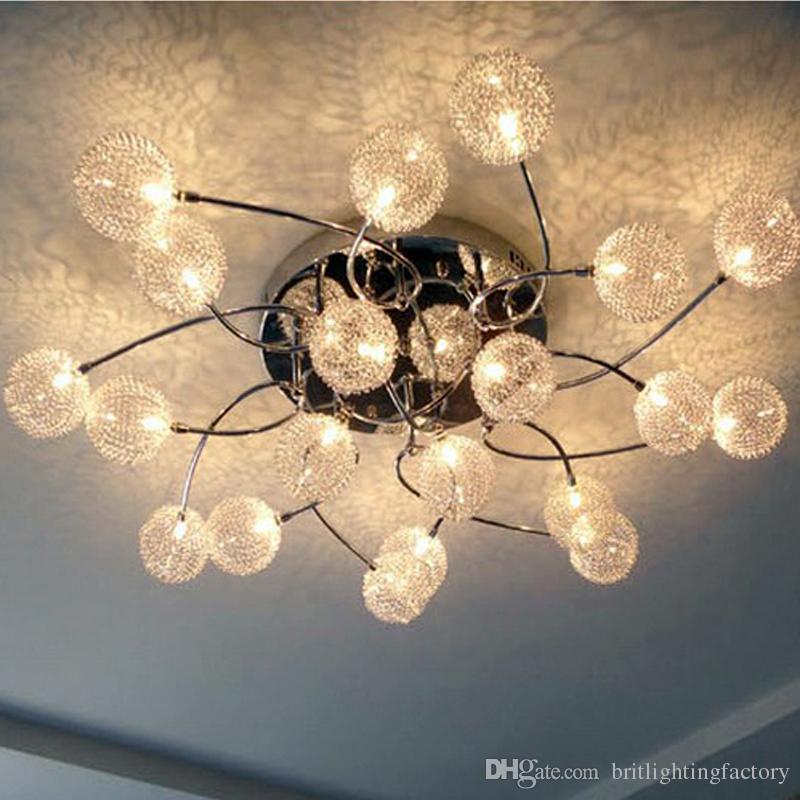 plafoniera a LED creative living camera da letto soffitto lampada ristorante lampada camera d'albergo decorazione culb Sala Conferenze plafoniere di aspirazione