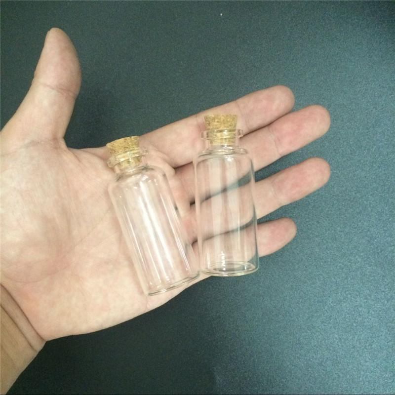 28 * 65 * 12,5 millimetri 25ml di vetro trasparente boli con sughero piccolo trasparente mini vuoto bole fiale di vetro vasi 24 pz spedizione gratuita