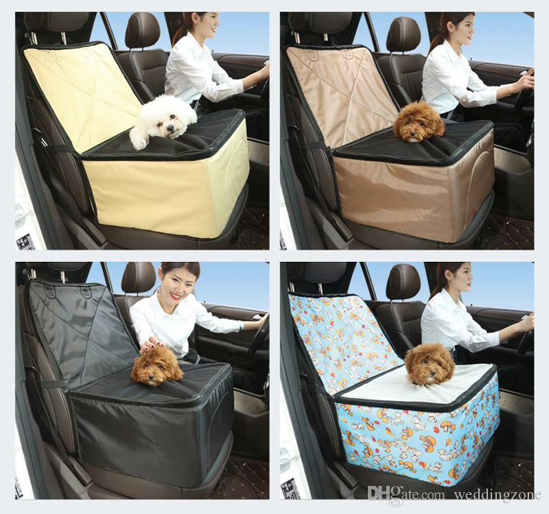 Portable Pet Dog Bag Pet Carrier Car Seat Pad Safe Carry House Cat Puppy BOX Travel Accessories Blanket Dog Basket