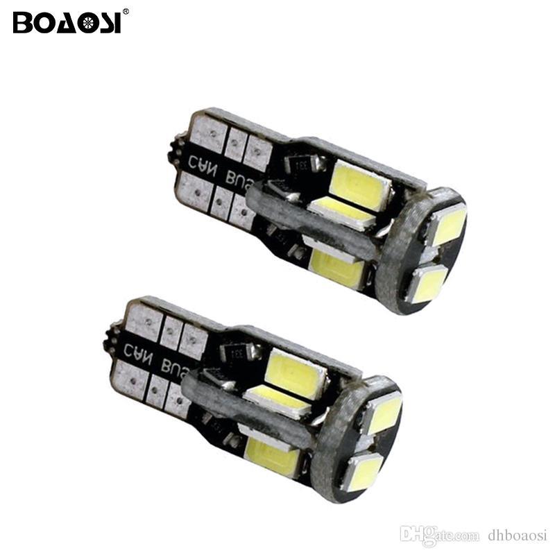 T10 168 W5W 10 SMD 5630 LED Voiture Lumière Lampe Auto Véhicule Dôme Intérieur Carte Lumières Ampoules