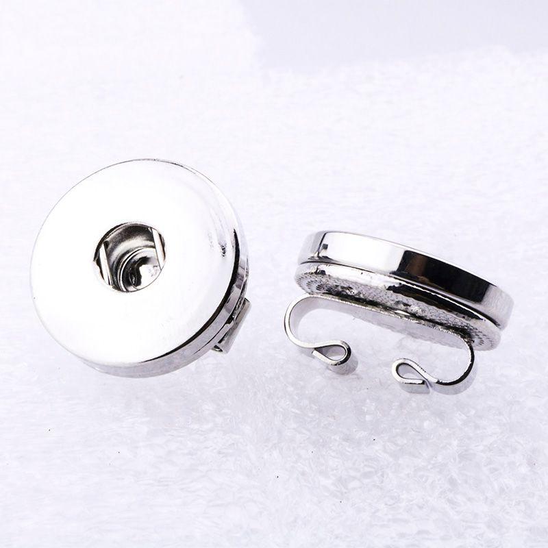 12mm 18 mm botón a presión accesorios hallazgos Botón de metal para hacer bricolaje broche de presión collar collar joyería