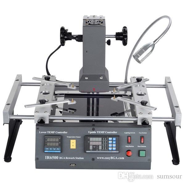 ACHI IR6500 kızılötesi BGA Lehimleme Rework Station Anakart Çip PCB Için IR 6500 Yenilenmiş Onarım Sistemi Lehim Kaynak