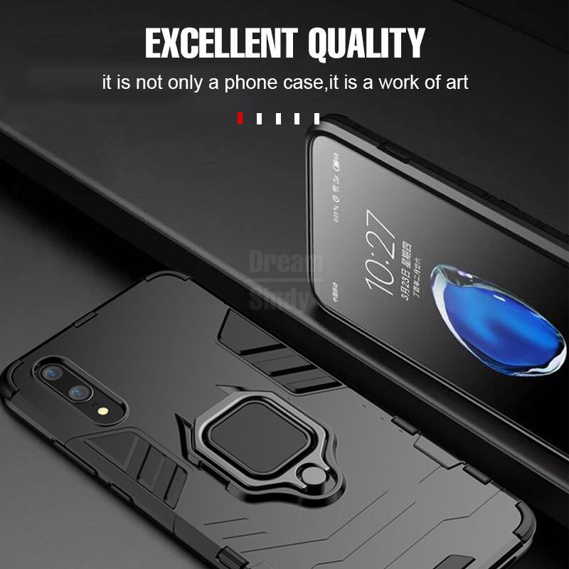 화웨이 P20 라이트 P20 프로 메이트 10 9 20 Lite 6X 명예 노트 10 V10 자기 자동차 전화 홀더 케이스에 대한 충격 방지 전화 케이스