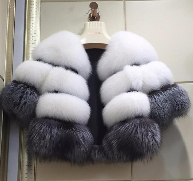 معطف الموضة الجديدة الشتاء المرأة معطف الملابس فو الفراء فوكس طويل المرأة كم من أنثى الشتاء المعطف