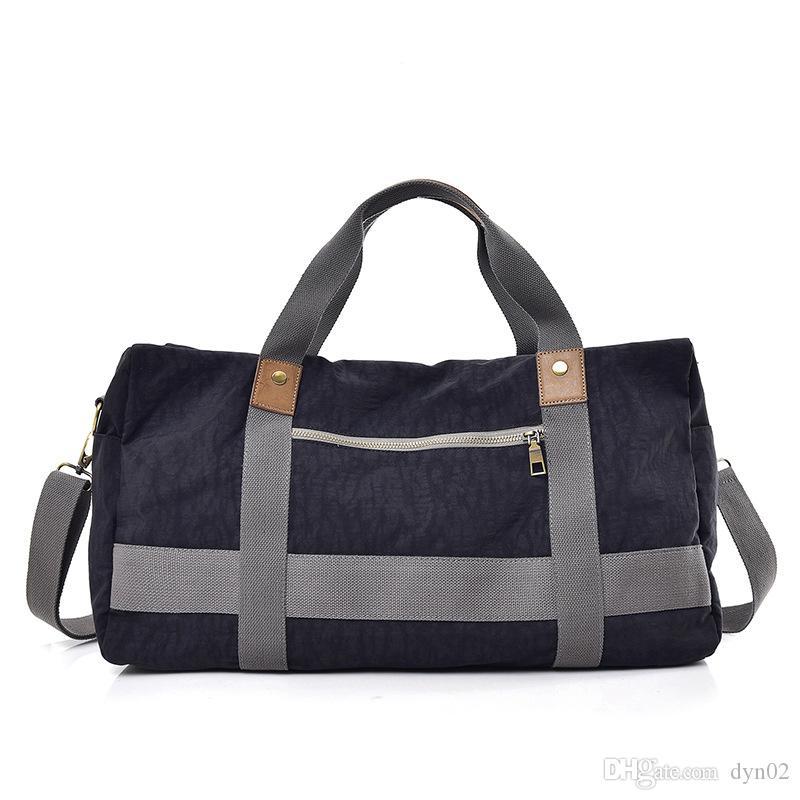 Borsa da viaggio Nuova moda borsa da viaggio all'aperto tela tracolla Messenger bag tendenza di grande capacità in nylon Oxford panno