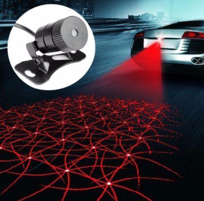 Auto luce antinebbia Laser Lampada antinebbia Autoallevamento Spia luminosa Stile brillante