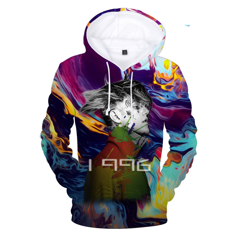 Ri peep 3d hoodie mulheres / homens jaqueta com capuz streetwear masculino hip hop popular rap cantor harajuku camisola chorar bebê moletom
