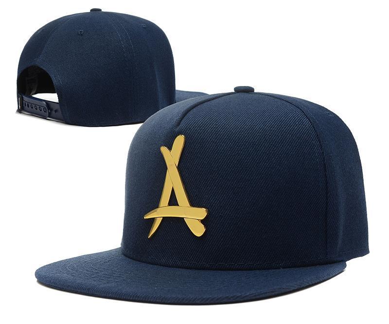 Flat hat for men and women hip hop THA Alumni Iron standard metal LOGO adjustable cap