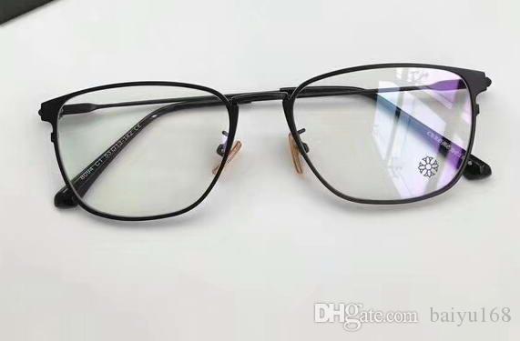 Mens Square Black Eyeglasses Glasses Frame Clear Lenses 54/20/145 Designer Sunglasses Brand New with Box