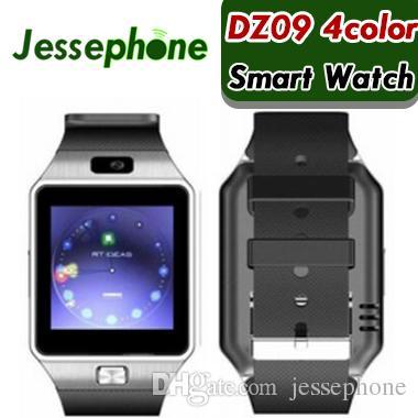 100X martwatch 2018 mais recente dz09 bluetooth smart watch suporte cartão sim para apple samsung ios android telefone celular 1.56 polegada smartwatches dhl
