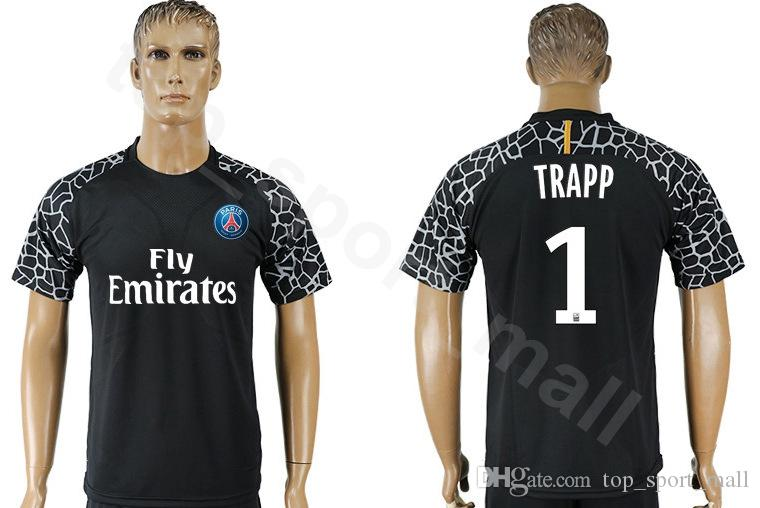 Acquista 18 19 Stagione Ligue 1 Portiere GK PSG 1 Gianluigi Buffon Maglia Manica Lunga Paris Saint Germain Kevin Trapp Areola Maglia Calcio Kit A ...