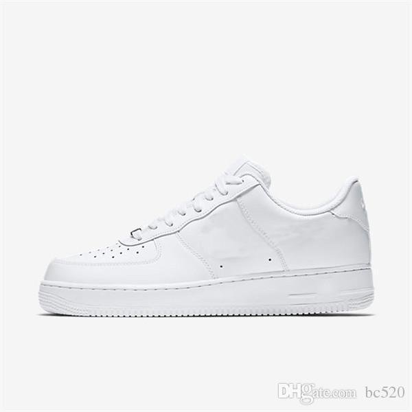 Acquista 2018 Hotsale Newest NIKE AIR FORCE 1 07 Lv8 UTILITY LOW Cuscino Nero Scarpe Casual Donna Uomo Sneakers Moda Mesh Traspirante Scarpe Casual A