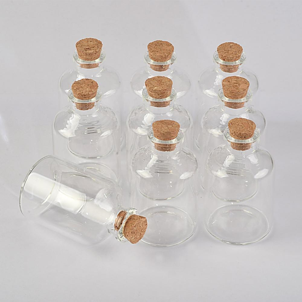 45ml Transparency Glass Bottles With Cork