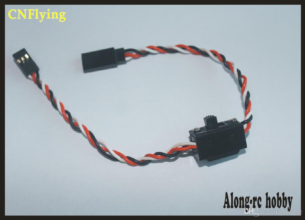FREE SHIPPING receiver to ESC SWITCH WITHE WIRE (5PCS) for airplane/hobby plane /RC model/airplane rc car