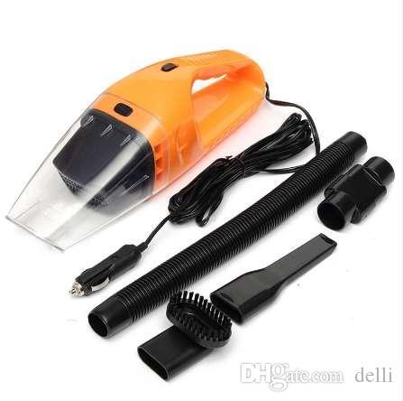 Hot Sale Portable 120 W 12 V Voiture Aspirateur De Poche Mini Super Aspiration Humide Et Sec Double Usage Vaccum Cleaner Pour Voiture