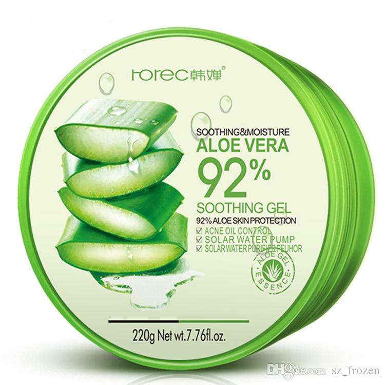 Natural Aloe Vera Smooth Gel Acne Treatment Face Cream for Hydrating Moist Repair After Sun Hydrating and moisturizing sleep mask