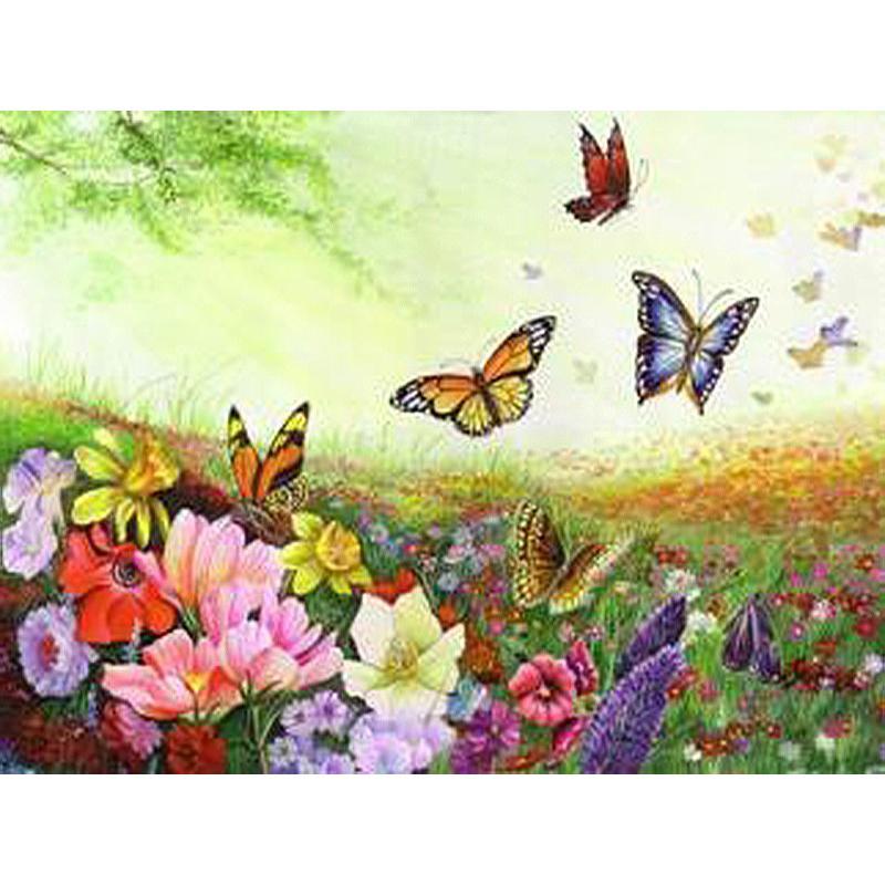 Sin marco mariposa animales pintura diy by números acrílico pintado a mano pintura al óleo sobre lienzo regalo único para el hogar obras de arte