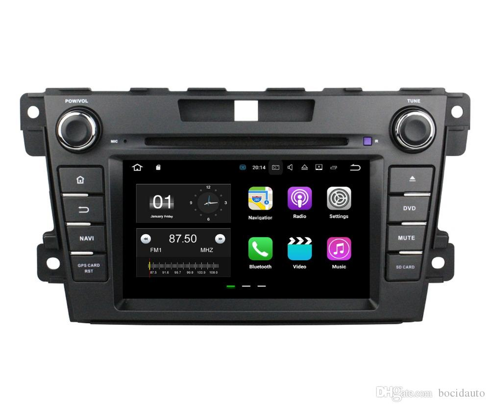 "1024*600 2din 7"" Android 7.1 Car Radio GPS Multimedia Head Unit Car DVD for Mazda CX-7 2012-2015 With 2GB RAM Bluetooth WIFI Mirror-link"