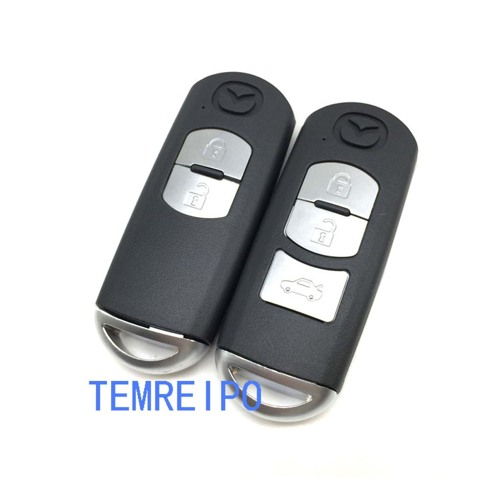 2 3 boutons Smart Remote Shell Shell pour Mazda X-5 / Sommet / Axela / Atenza / M3 / M6