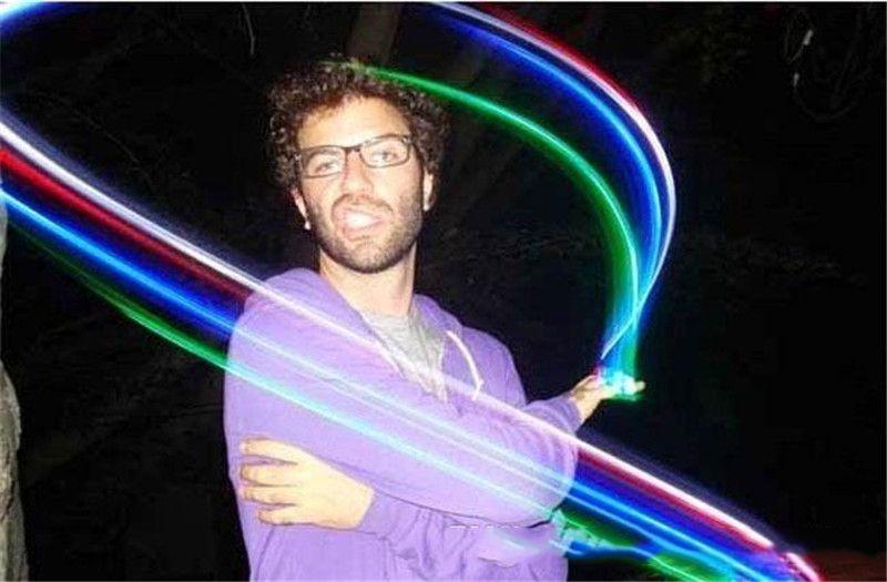 Dedo do DIODO EMISSOR de luz da lâmpada Dedo Anel de Luzes de Brilho De Laser Dedo Partido Flash Kid Brinquedos 4 Cores de Presente de Natal 100 pcs a366