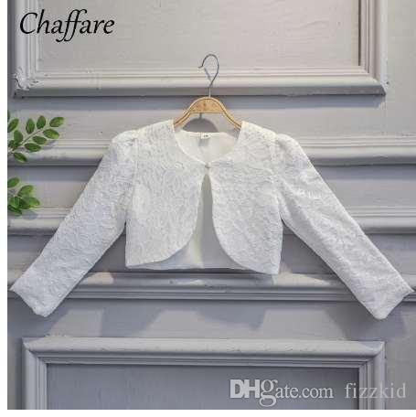 Kinder Mädchen Spitze Strickjacke Baby Lange Ärmel Häkeln Bolero Jacken für Mädchen Hochzeit Cape Mantel Kinder Kleid Tops Kleidung