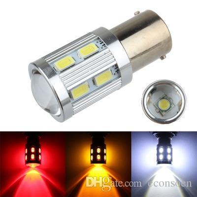 Vente chaude S25 1157 1156 12V 5630 12SMD + 1 PCS CREE auto led ampoule voiture signal frein en tournant la lumière inverse