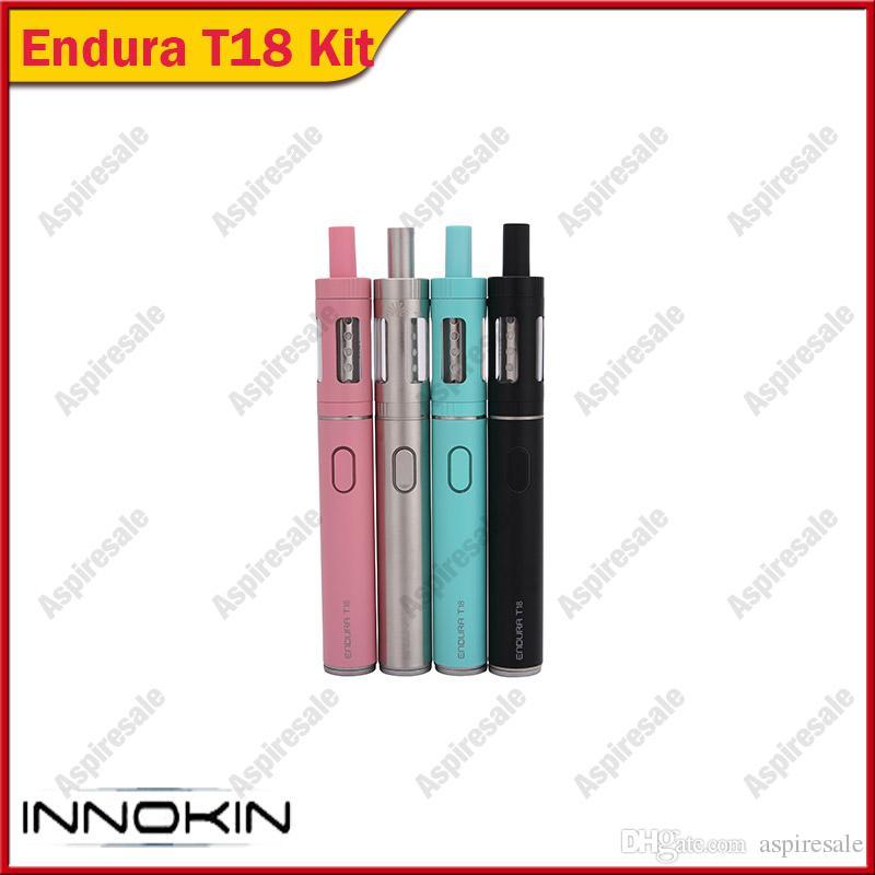 Original Innokin iTaste Endura T18 Starter Kit / Innokin Endura T18E Starter Kit with 1000mAh Battery & 2ml Top Refilling Atomizer