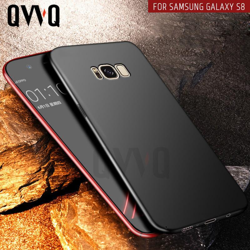 Estuche rígido para el teléfono Samsung Galaxy S8 Plus Nota 8 S6 S7 Edge para Samsung A5 2017 A7 J7 J5 2016 Estuche