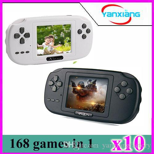 10pcs Handheld Video Game Console Retro Game Player perfect gift YX-XK-PVP