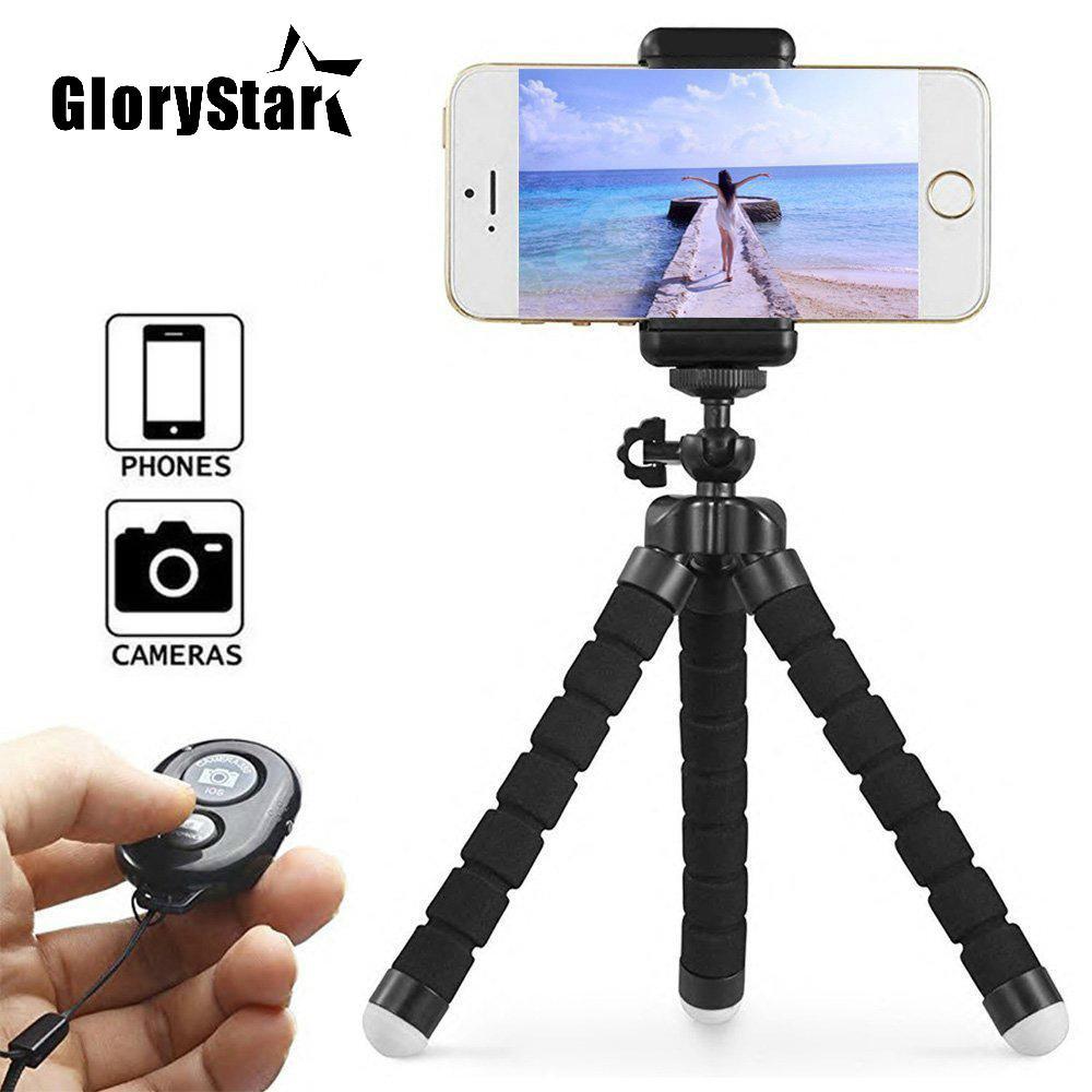 Mini flessibile Gorillapod del polipo treppiedi per l'iPhone Samsung Xiaomi Phone Huawei Treppiede selfie Stick per GoPro Camera Accessori