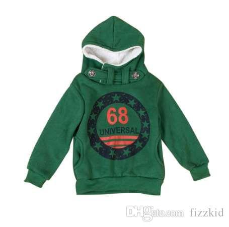 Дети мальчики толстовки одежда дети зима толстые кофты малыша повседневная свитер Дети плюс бархат топы костюм #B2