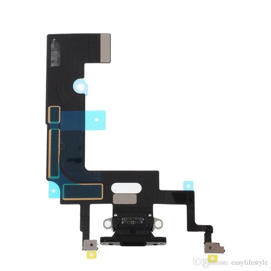 Connecteur d'amarrage de port de charge de bonne qualité Remplacement de ruban de câble Flex pour la réparation de téléphone portable iPhone XR