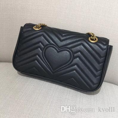 حار بيع غي حقائب الكتف النساء الفاخرة سلسلة حقيبة crossbody حقائب اليد الشهيرة مصمم محفظة عالية الجودة حقيبة الإناث رسالة # 75