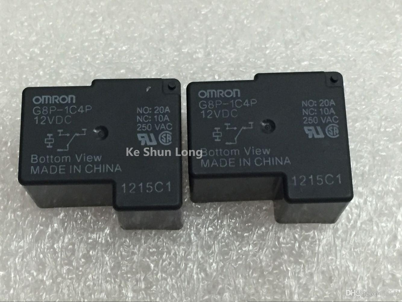G8P-1C4P-12VDC OMRON Nuevo Relé 1 un