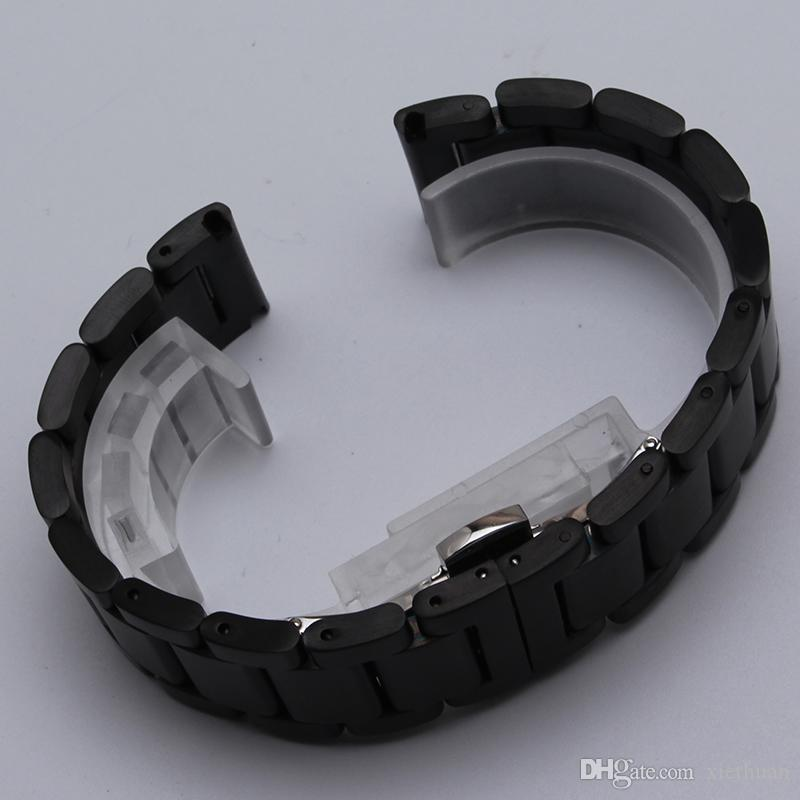 Fit Samsung Gear S2 Классического механизм S3 пограничной Галактики часы замена мужчины женщины новых ремешки часы ремешок браслет неполированных аксессуары полоса