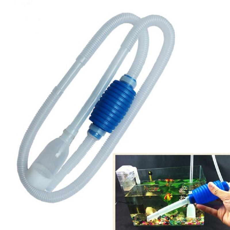 1,8 mt Aquarium Manuelle Reiniger Werkzeug Siphon Kies Saugleitung Filter Fr Aquarium Vakuum Wasser Ändern Pumpe Werkzeuge Einzigartige kostenloser versand
