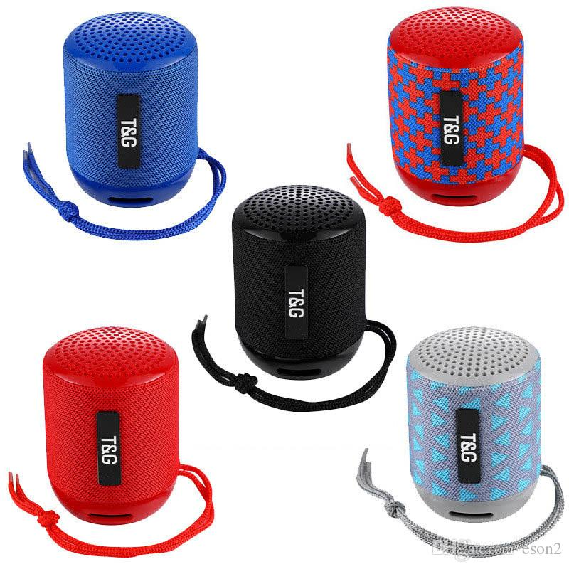 Mini CHARGE TG129 Mini alto-falantes Bluetooth portátil mãos livres Smart Wireless Speaker grande potência Subwoofer Apoio TF e USB