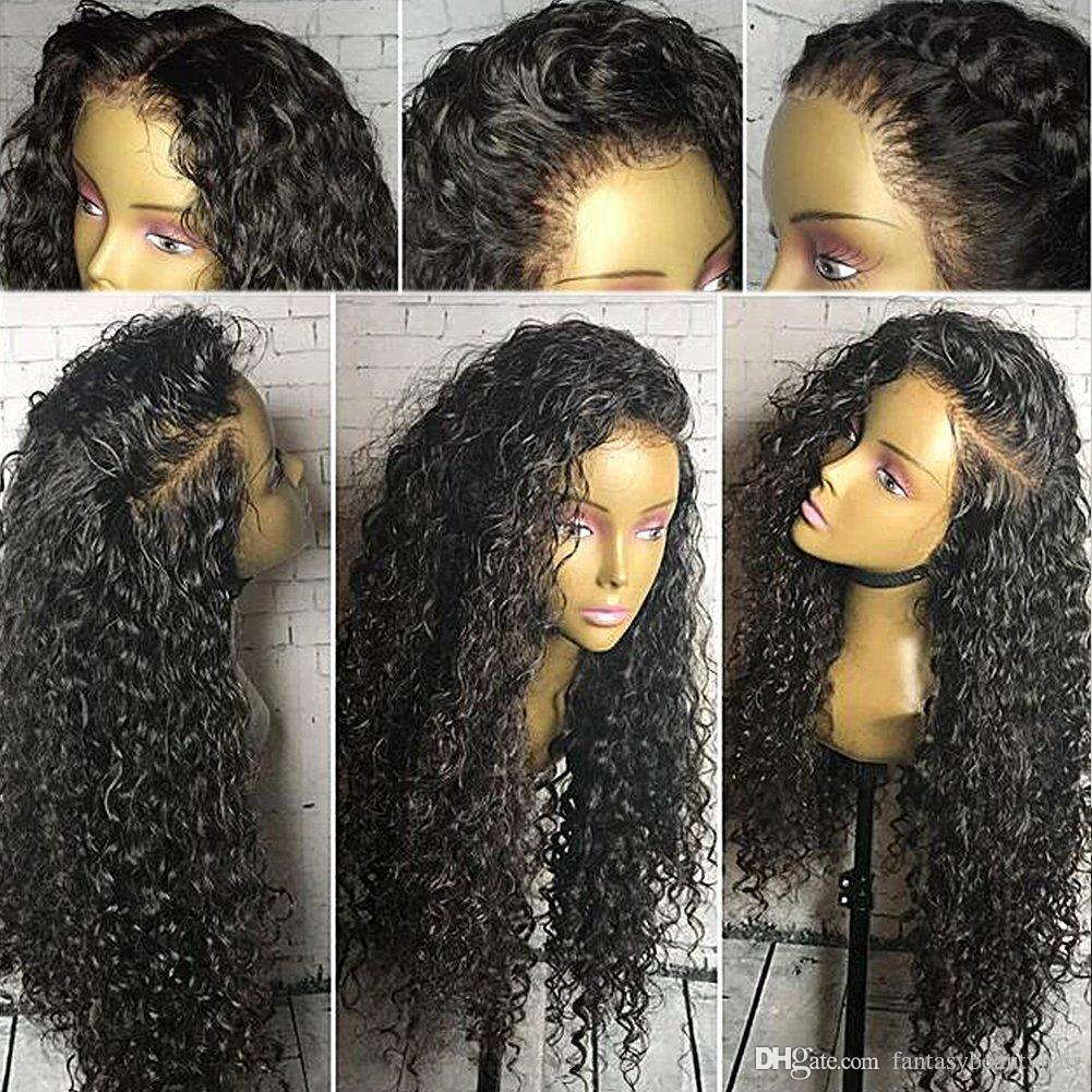 360 Lace Wig 180% Density Curly Full Lace