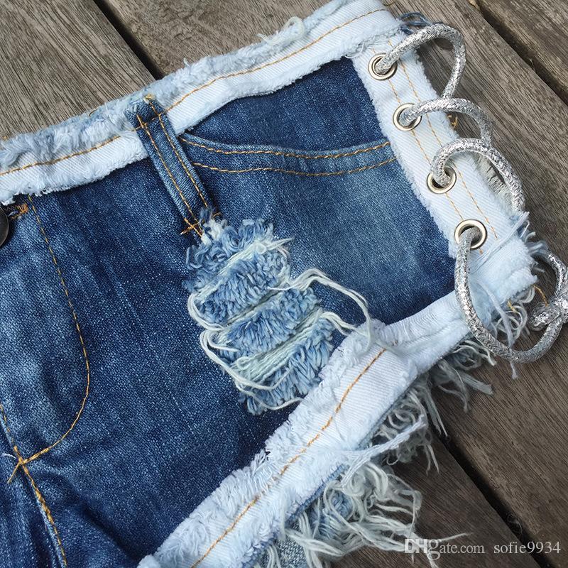 Denim Jeans Femmes Dancing Acheter Mini Shorts Short Pole nRXq54F