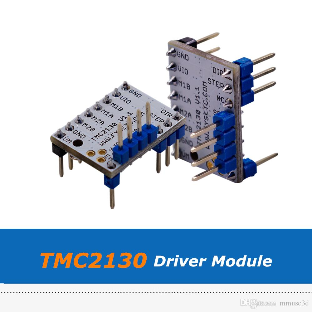2pcs Silent MKS V1.1 TMC2130 Stepper Motor Driver Module With SPI For 3D Printer Board