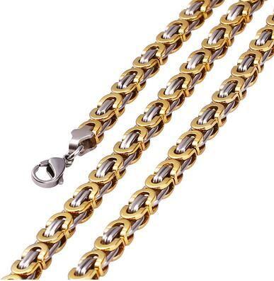 New high-end exquisite hot sale jewelry Jesus Bible verses golden cross titanium steel pendant necklace