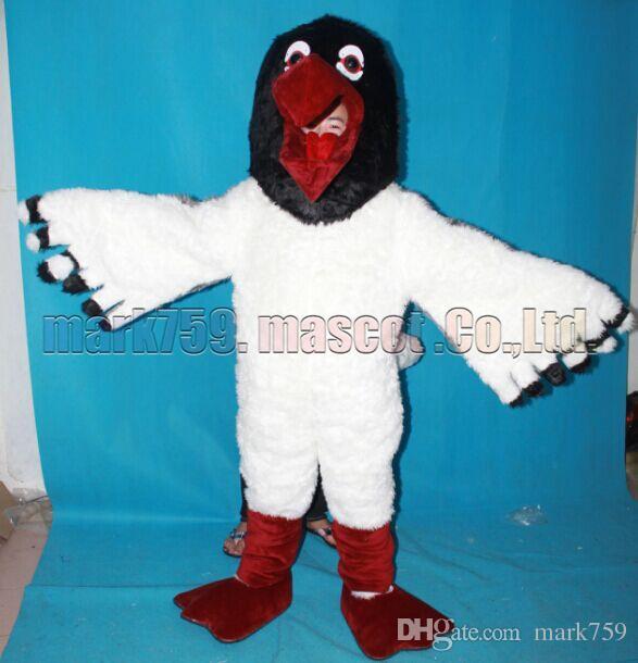 El tamaño libre del envío del traje de la mascota de las aves marinas, fiesta de carnaval del juguete de la felpa de la mascota de la gaviota celebra ventas de la fábrica de la mascota.