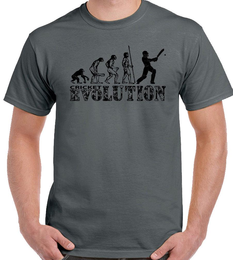 Cricket Evolution Funny Gift T-Shirt