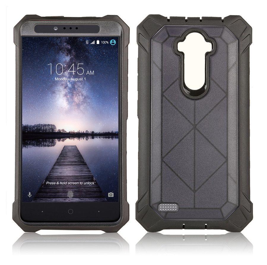 Para 6 6S 7 8 9 la caja del clip Plus Con Kickstand Tough cubierta Armor Case anti Caso 2 en 1 Hybrid choque TPU PC iphone X