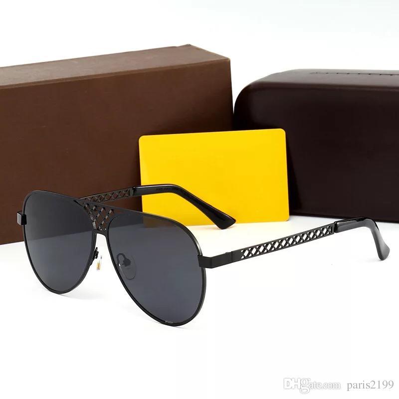 2018 nuovi occhiali da sole di alta moda designer uomini donne UV400 polarizzati occhiali da sole all'aperto con occhiali da sole ovali donne