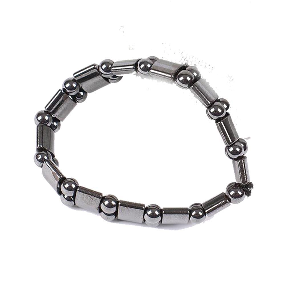 jewwelry bracelets Unisex Bracelet Geometric Shaped Health Care Magnetic Therapy Hematite Bracelet hot fashion